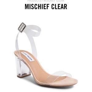 Steve Madden | Clear Sandal Heels